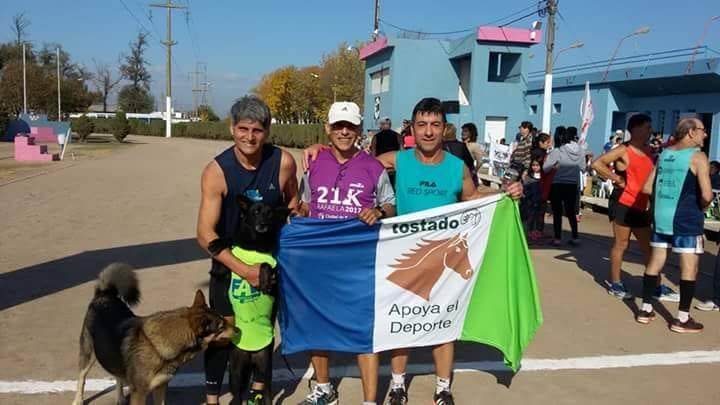 El maratonista Julio Lemercier fue 1° en San Isidro Labrador