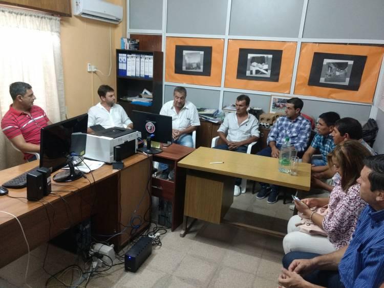 Reunión por emergencia hídrica