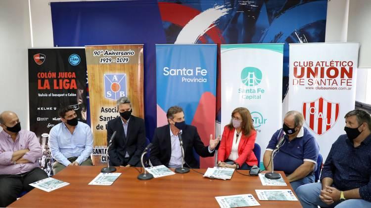 Santa Fe sede de la Liga Nacional de Basquet