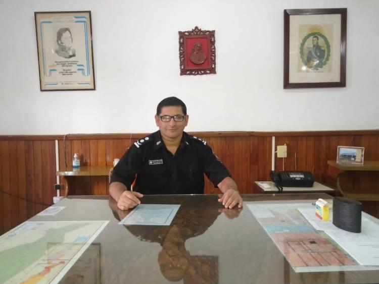 Cejas Héctor es el Nuevo Director de Servicios Sociales de la Policía