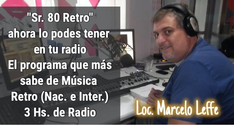 """RadioSol 103.3: vuelve """"Señor 80 Retro """""""