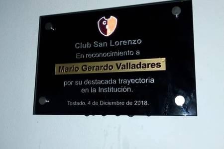Tostado: el Club San Lorenzo inauguró un SUM