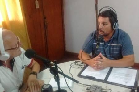 Entrevista a Osvaldo Galay, Secretario de Obras Públicas de Tostado
