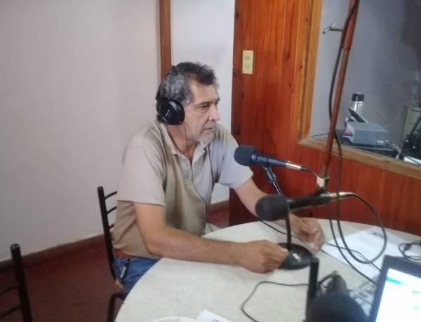 Nota con Sergio Toloza, Delegado de AMSAFE 9 de Julio
