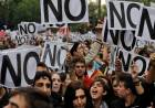 Marcha en repudio por los tarifazos