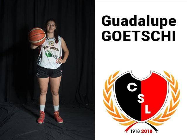 Guadalupe Goetschi preseleccionada nacional