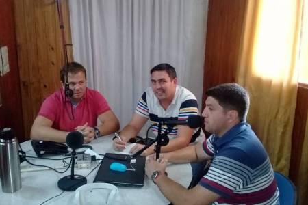 Nelson Rabellino,  Luis Fernando Gramajo y Martín Benfatto.