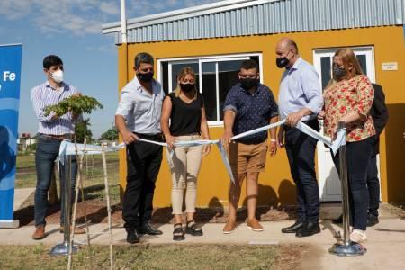 Tostado: el gobernador Perotti inauguró viviendas